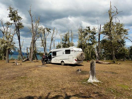 Unser Camping in der Wildnis
