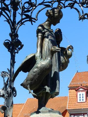 Die Gänseliesel aus Göttingen - das meist geküsste Mädchen der Welt ;o))