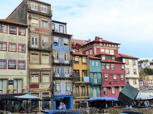 Das mittelalterliche Viertel 'Ribeira'