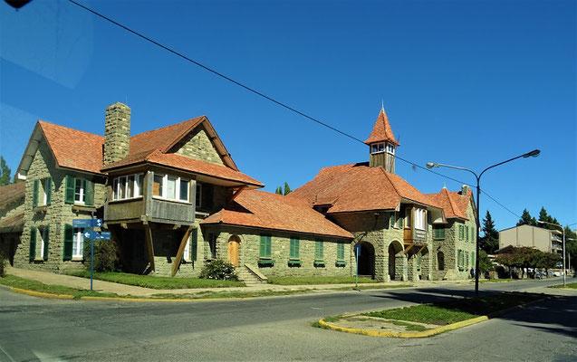 Die alten Gebäude haben noch Stil