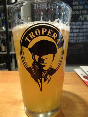 Lokales Bier im Mama Gaucha