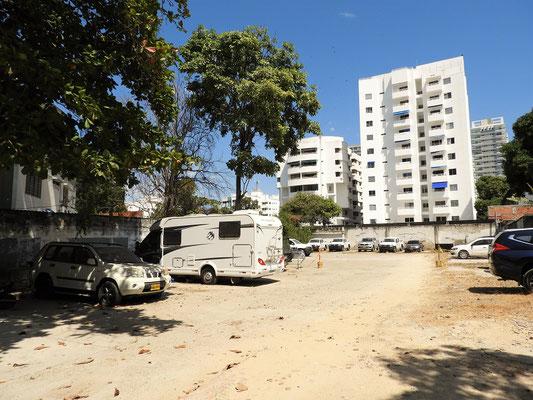 Unser Camping/Parkplatz auf unbestimmte Zeit