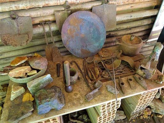 Alte Minen-Werkzeuge
