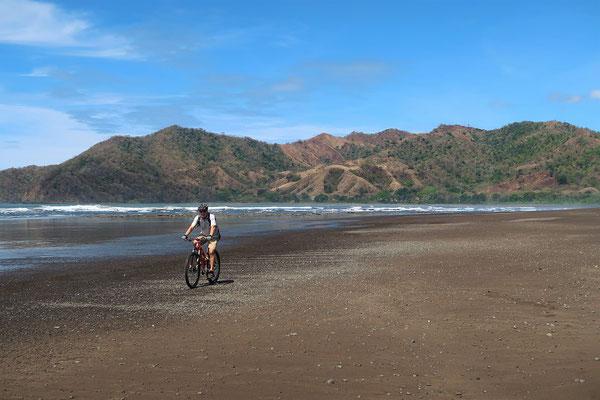 Biketour am Strand....