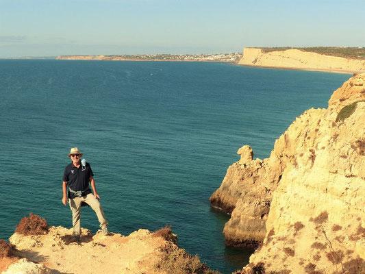 An der Küste Ponta da Piedade....