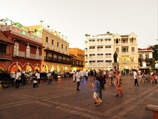 Plaza de los Coches - hier wurde früher der Sklavenmarkt abgehalten