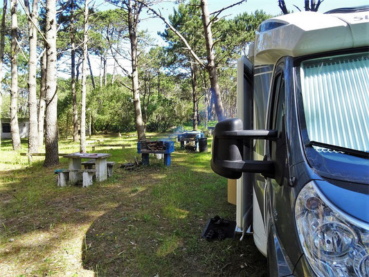 Camping in La Paloma