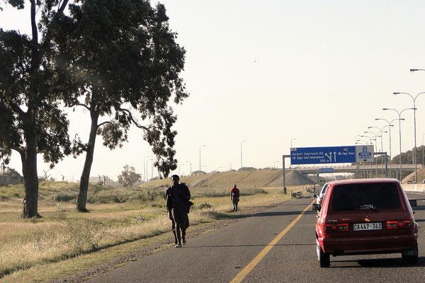 Autobahnen sind hier nicht nur für Autos ;o))