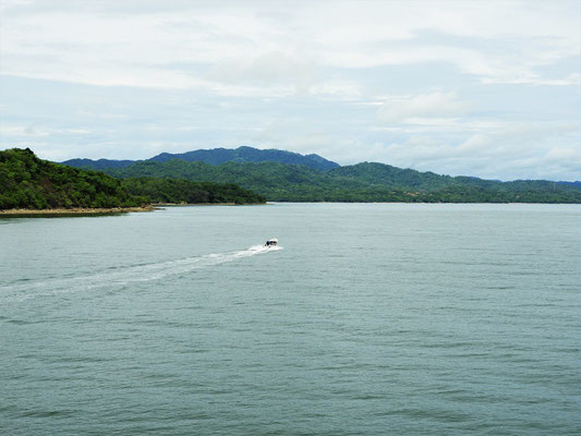 ....überqueren wir den Golfo de Nicoya
