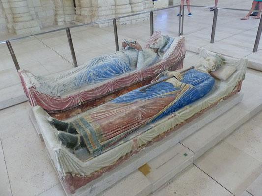 Heinrich II. Plantagenêt und Eleonore von Aquitanien