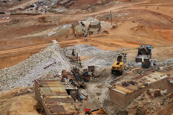 Eingang der unteren Mine