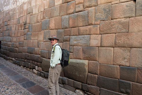 Inka-Mauer im Imperial-Stil
