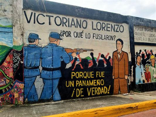 Die Strasse trägt den Namen zu Ehren eines Freiheitskämpfers