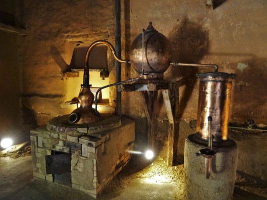 Pisco destillieren früher....