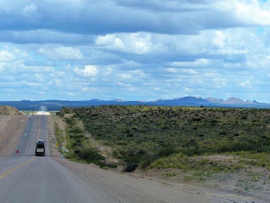 Fahrt durch die Sierra Grande