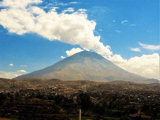 Vulkan Misti 5822 müM