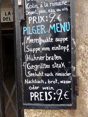 Von solchen Preisen kann man sonst auch in Spanien nur träumen - hat sehr gut geschmeckt