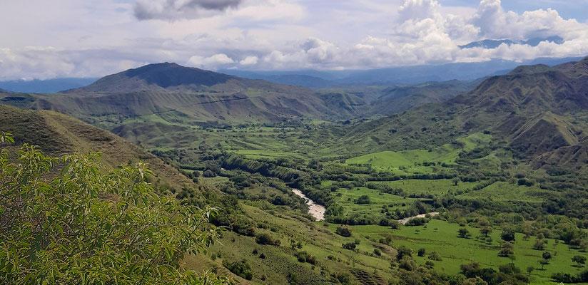 Das grüne Kolumbien im Süden