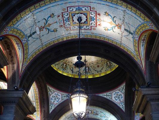 Mosaikdecke in der Town Hall