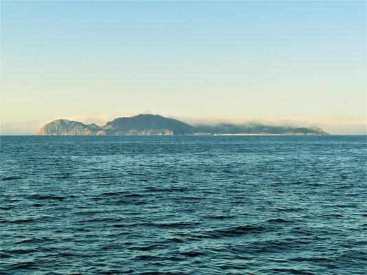 Die Cíes Inseln....