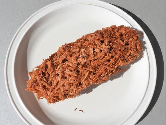 Enredos de Yuca - Geraffelte Yuca frittiert