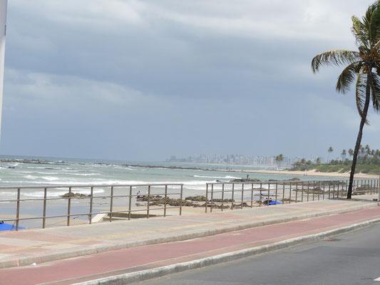 Salvador da Bahía kommt in Sicht
