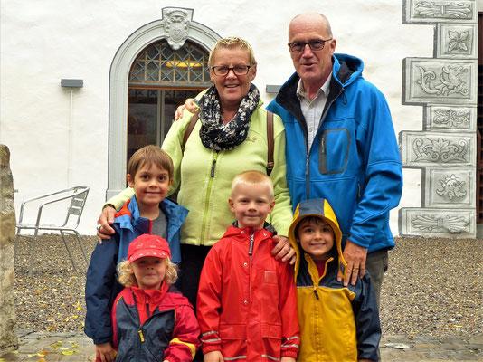 Besuch auf der Burg in Zug....
