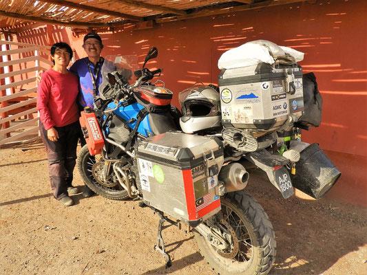 Angie und Woon aus Malaysia