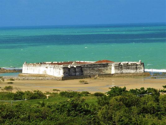 Das portugiesische Forte dos Reis Magos....