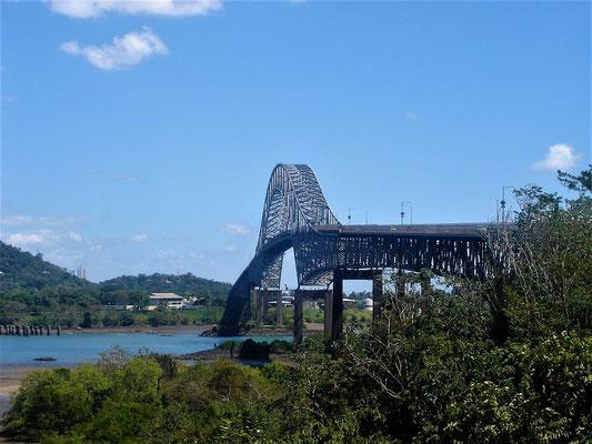 La Puente de las Américas - bis 2004 war sie die einzige feste Strassenverbindung zwischen Nord- und Südamerika
