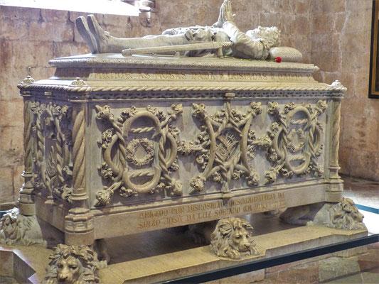 Grab von Vasco da Gama - Entdecker des Seewegs um das Kap der Guten Hoffnung nach Indien