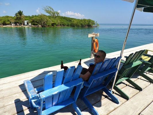 Am Split - Hurrikan Hattie teilte die Insel 1961 in zwei Teile....