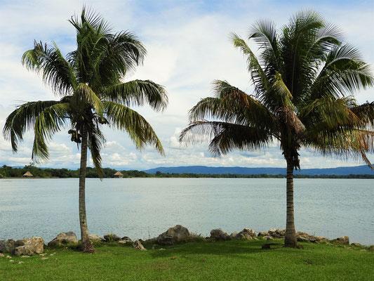 ....und den Lago de Izabal erreicht