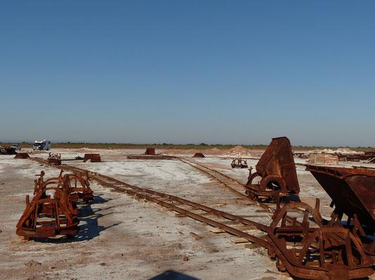 Hier wurde früher in grossen Mengen Salz abgebaut