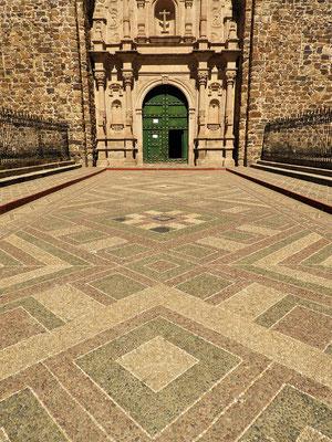 Mosaik aus kleinen Kieselsteinen