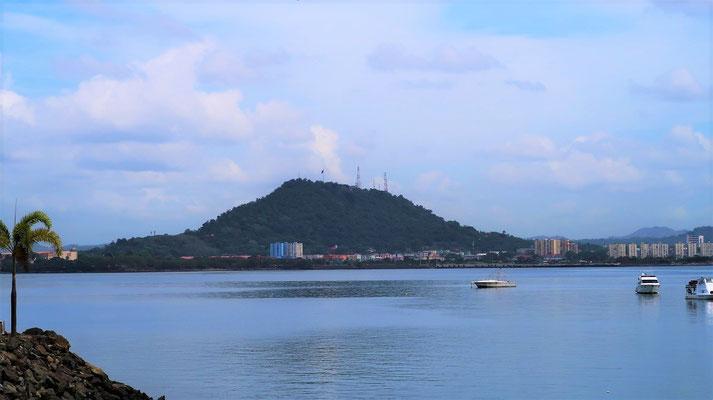 Ancon Hill - die höchste natürliche Erhebung von Panama City - 199m