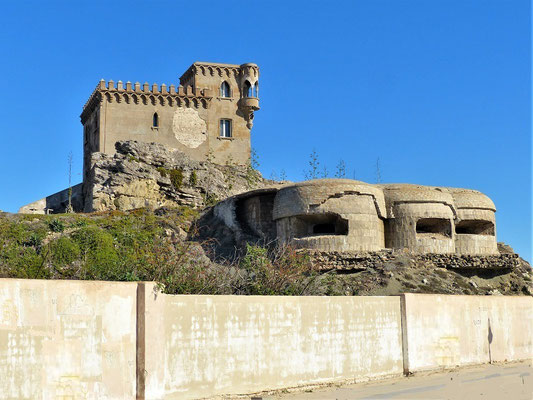 Castillo de Santa Catalina mit Bunker aus dem 2. Weltkrieg