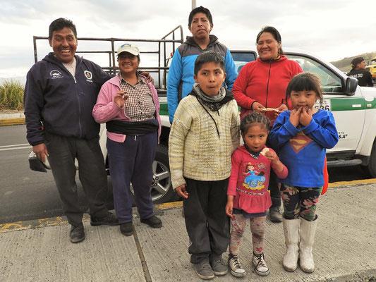 Rigoberto mit seiner ganzen Familie