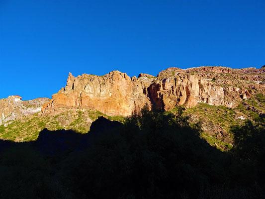 Sonnenaufgang im Canyon