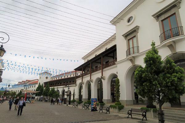 Stadtteil Cyalá....
