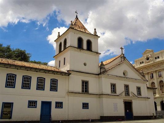 Capela de Anchieta - hier wurde 1554 mit dem Bau der Kapelle die Stadt gegründet