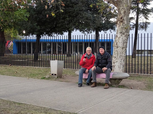 Schlummertrunk beim Park Jardin de los Sentidos