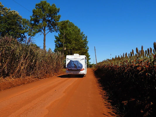 Unterwegs zu den Jesuiten-Missionen von Jesus und Trinidad