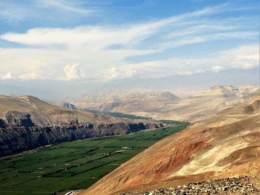 Das Valle de Majes liegt vor uns