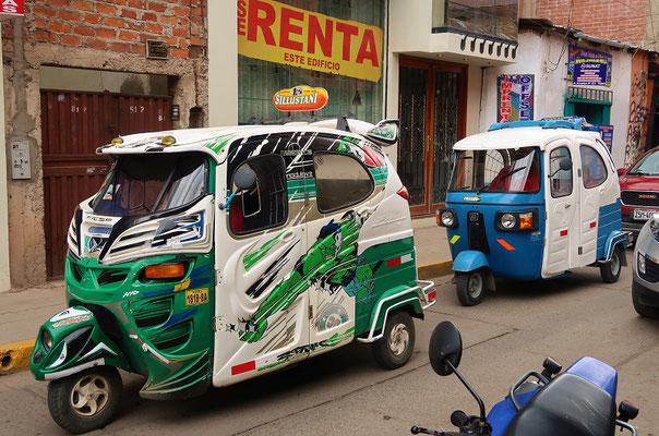 Dreirad-Taxi/Inca-Trotter