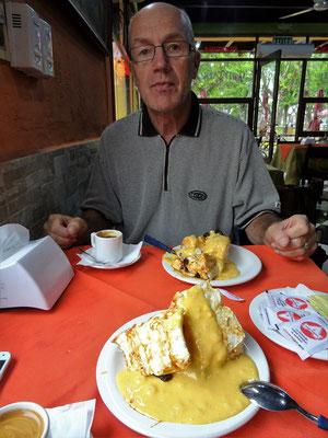 ....und zum Dessert 'Isla Flauta'