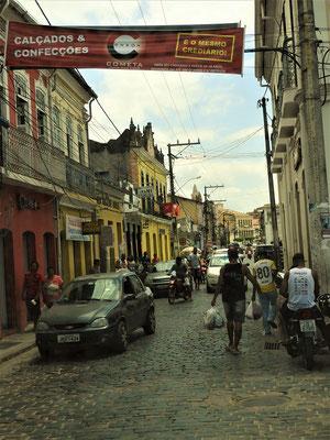 Die engen Strassen von Cachoeira
