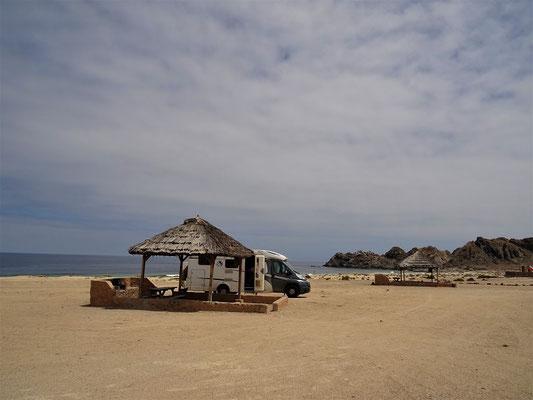Unser Campingplatz....