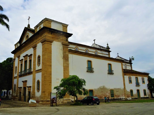 Igreja dos Remédios - gebaut für das weisse Bürgertum (dritte Neukonstruktion von 1873)
