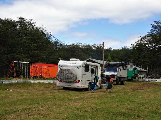 Camping Río Pipo, Ushuaia - hier feiern wir Weihnachten
